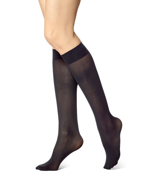 Revitalizing Opaque Knee Hi Black