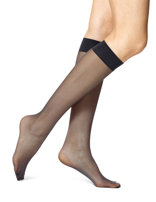 Sheer Knee Hi Value Pack Black