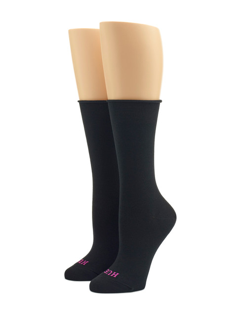 HUE Jeans Socks Black