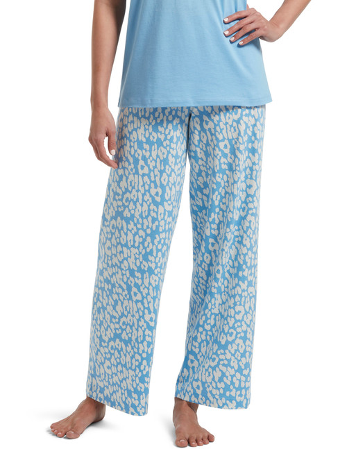 Animal Shadow Pajama Pant Bella Blue