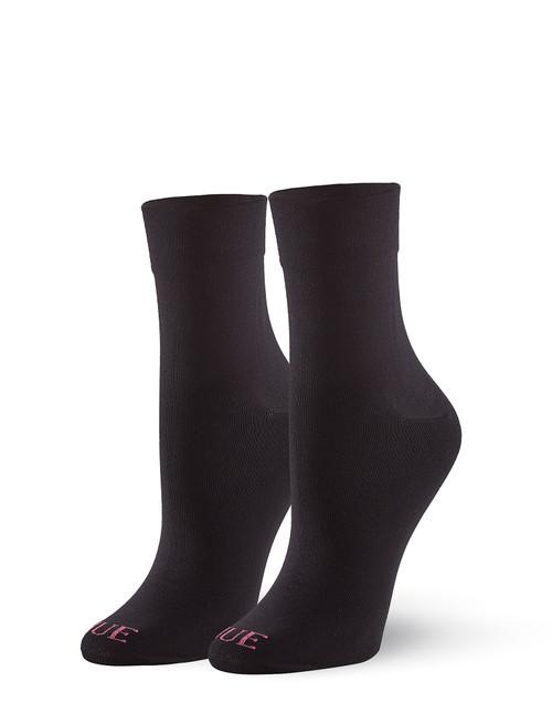 Cushioned Pixie Sock Black