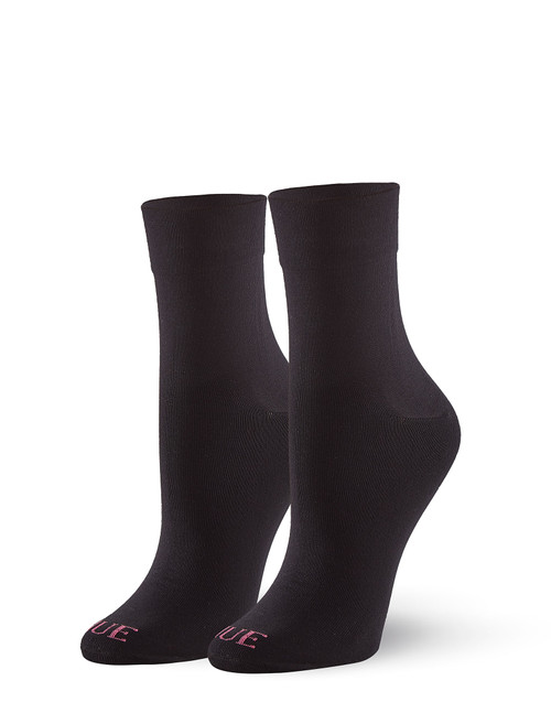 Cushioned Pixie Sock Black
