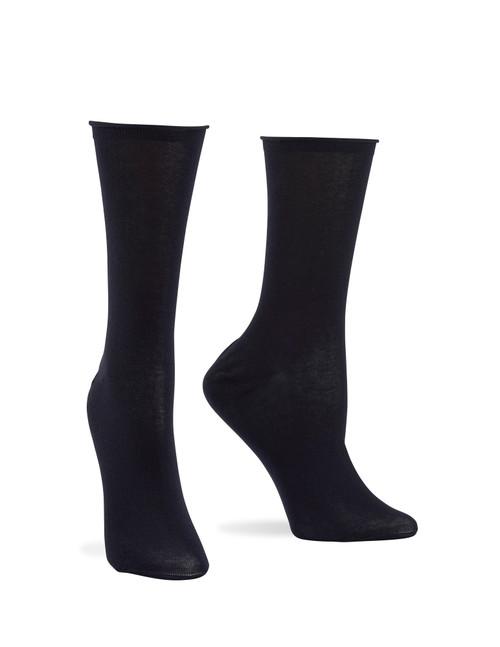 Superlite Cotton Sock Black