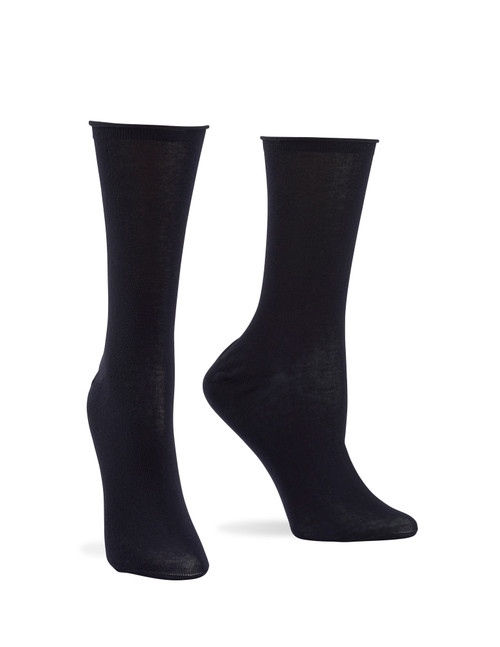 Superlite Cotton Sock Black