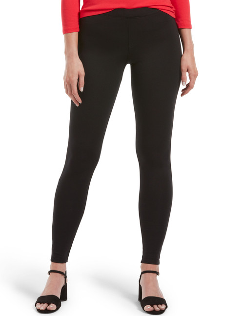 Ponte Leggings Black