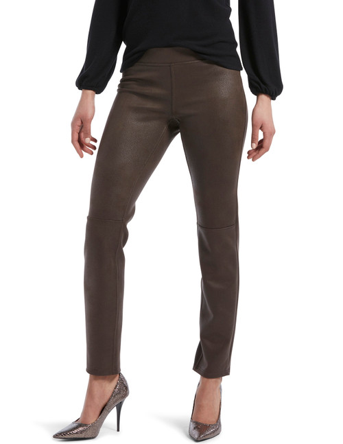 Textured Microsuede Leggings Mulch
