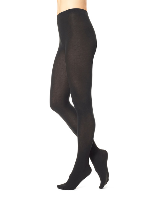 Heat Temp Tights Gray Heather