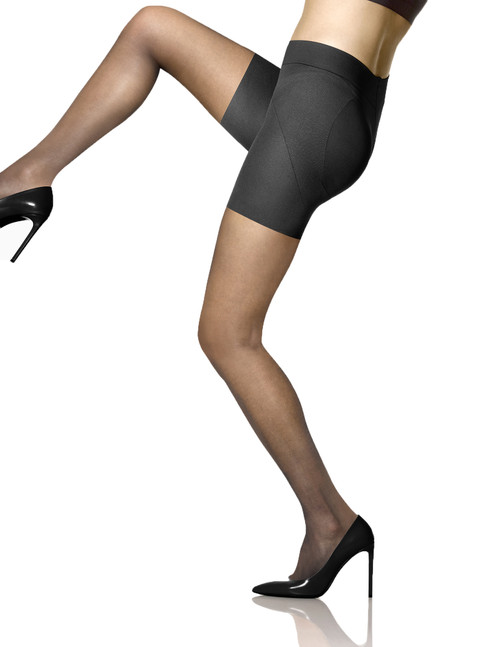 Sheer Shaping Tights Black