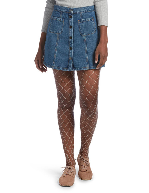 Large Fishnet Tights Black