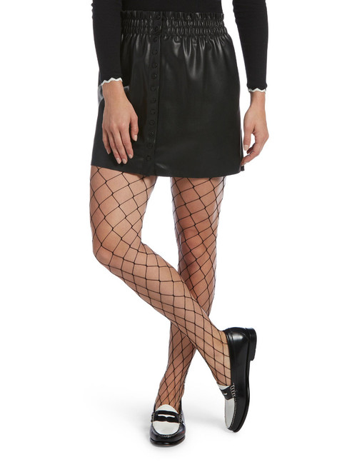 Large Fishnet Tights Black