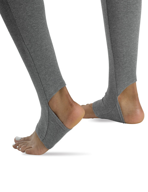 Theracom Laid Back Stirrup Leggings,  infused with CBD Black