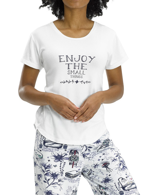 Enjoy The Small Things SS PJ Tee