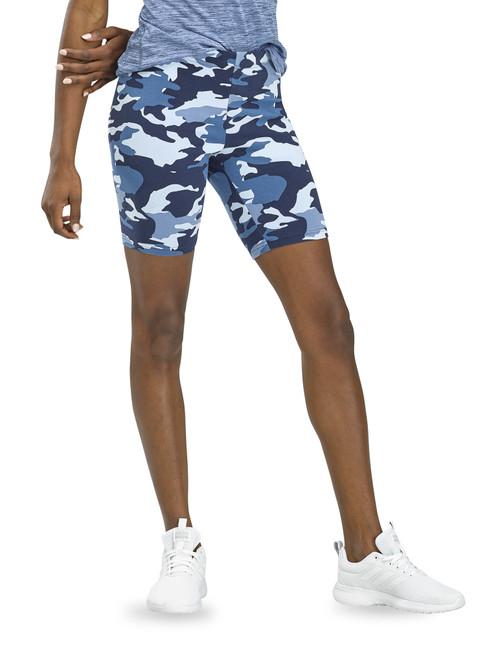 Essentials Camo Cotton Bike Shorts