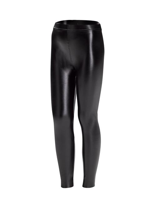 Sleek Effects Leatherette Girl's High Rise Leggings