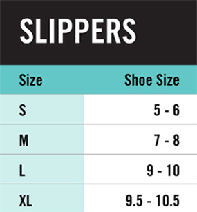 Hue Slippers Size Chart