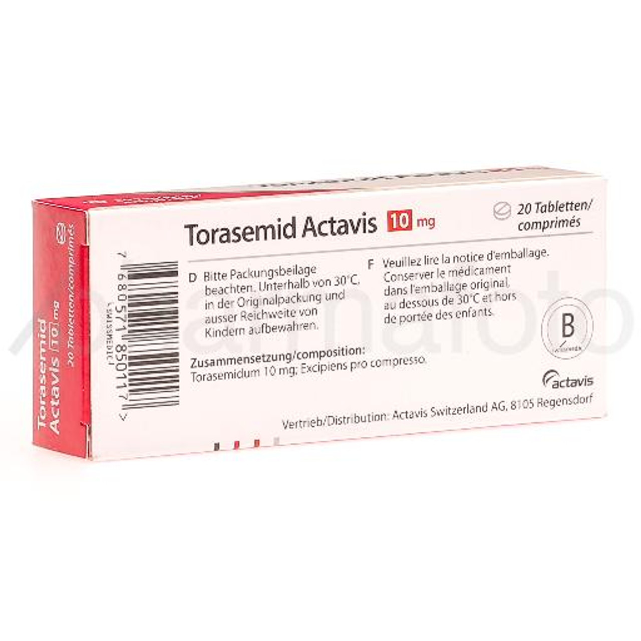 Torasemid 20 Mg
