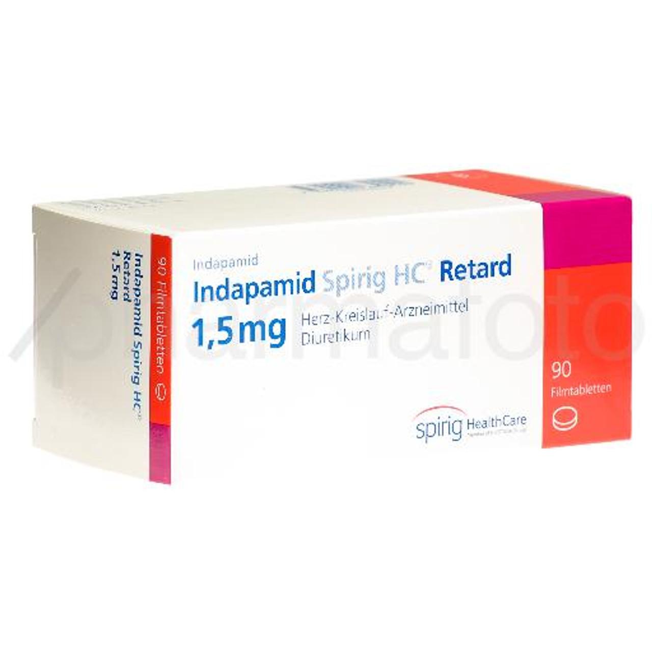 INDAPAMID Spirig HC cpr pell ret 20.20 mg 20 pce   Pharmafoto