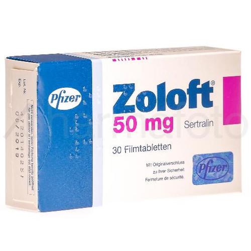 Zoloft cpr pell 50 mg 30 pce