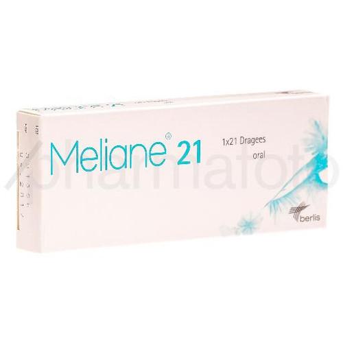 MELIANE 21 drag 21 pce