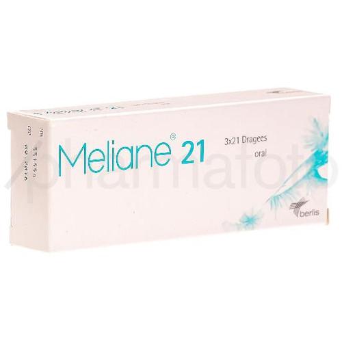 MELIANE 21 drag 3 x 21 pce