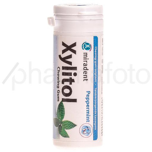 MIRADENT Xylitol Chewing Gum mint 30 pce