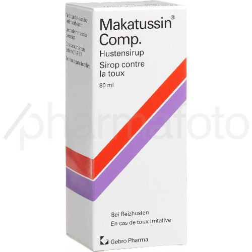 Makatussin Comp sirop 80 ml