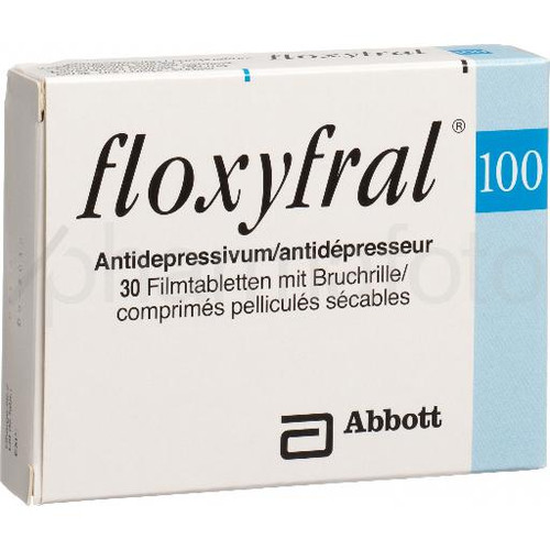 FLOXYFRAL cpr pell 100 mg 30 pce