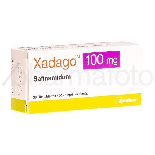 Xadago cpr pell 100 mg 30 pce