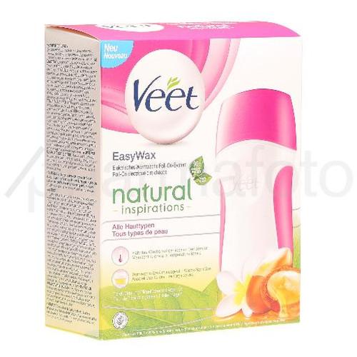 Veet Easy Wax Sensitive Roll On Set Natural Pharmafoto