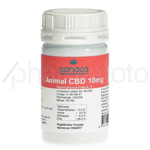 PANACA Animal CBD caps 10 mg bte 100 pce