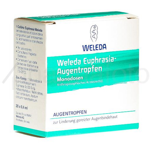 WELEDA Collyre Euphrasia MD (nouv) 20 x 0.4 ml