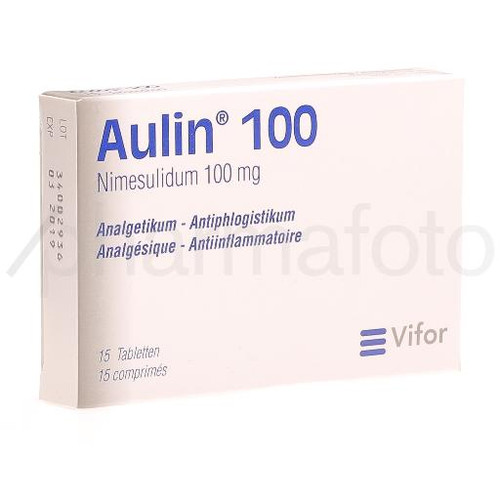 AULIN cpr 100 mg 15 pce
