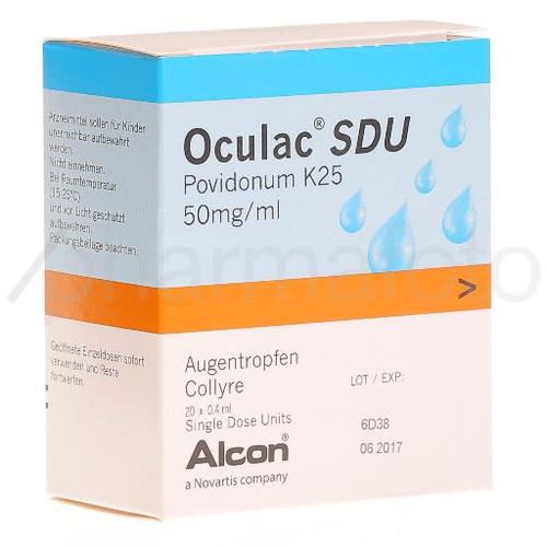 OCULAC SDU gtt opht 20x0.4 ml