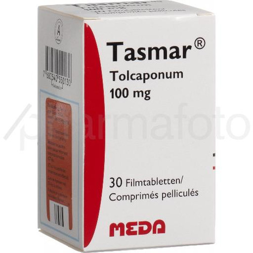 Tasmar cpr pell 100 mg 30 pce