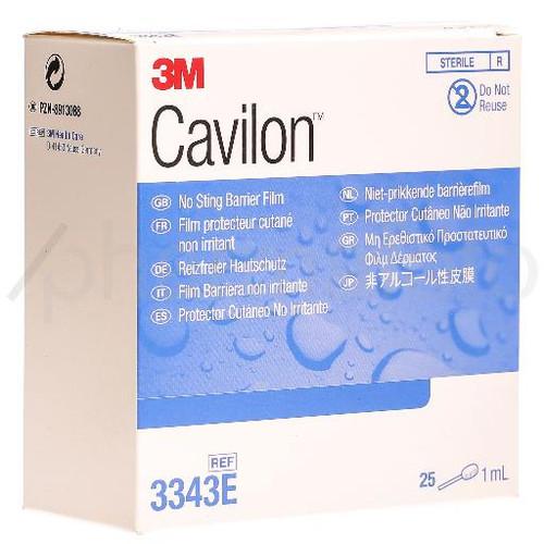 3M CAVILON protect peau applicateur 25 x 1 ml
