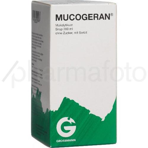MUCOGERAN sirop 200 ml