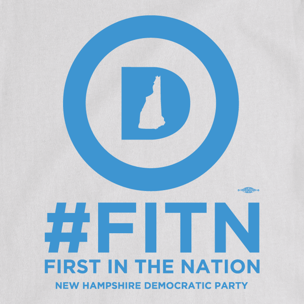 """""""First In The Nation""""  (White Tee)"""