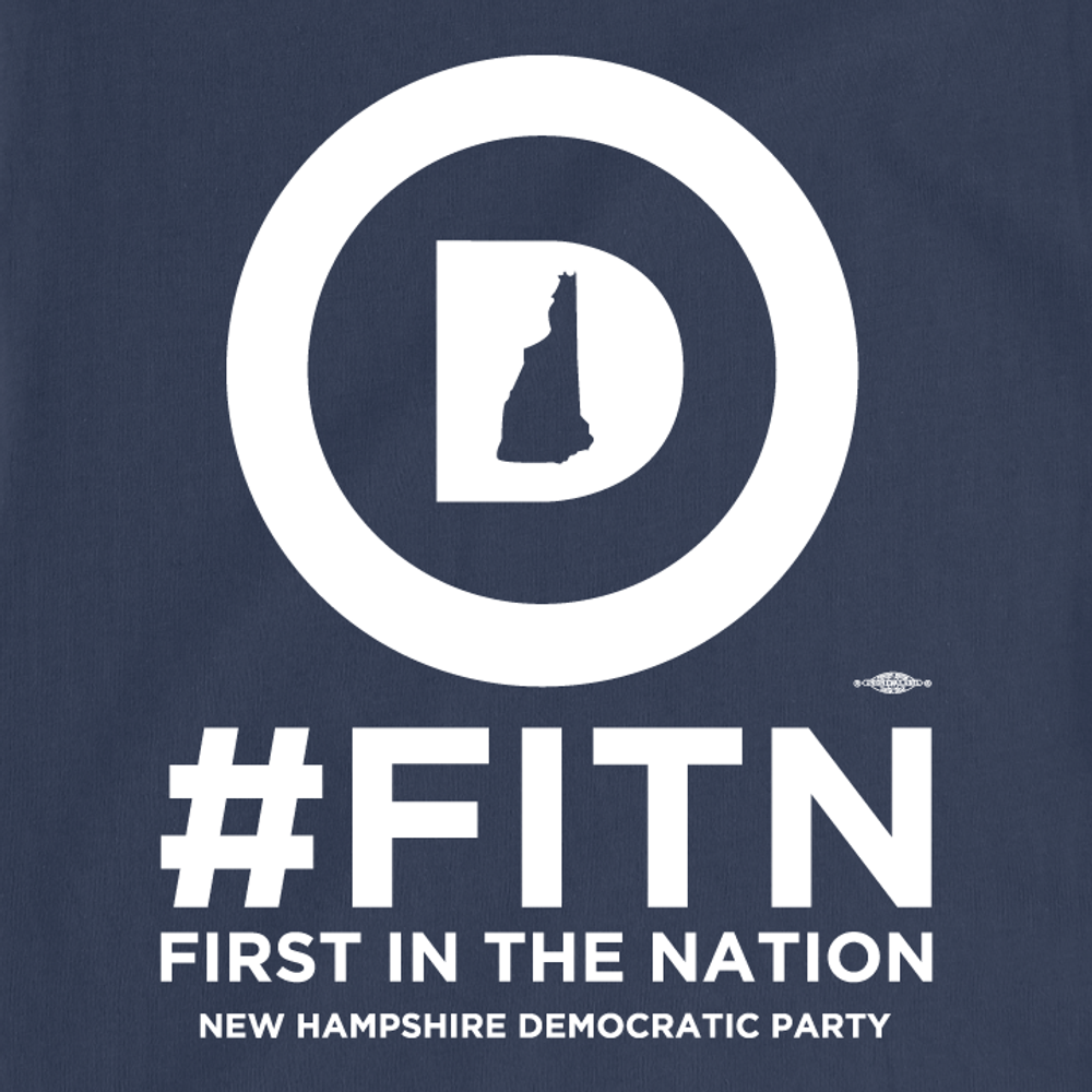 """""""First In The Nation""""  (Navy Tee)"""