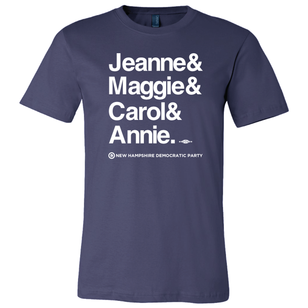 Jeanne & Maggie & Carol & Annie (Navy Tee)