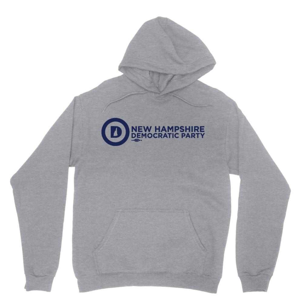 NHDP Official Logo (Dark Ash Adult Hooded Pullover Fleece)