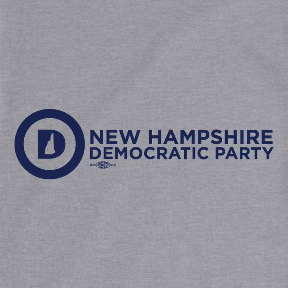 NHDP Official Logo (Athletic Heather Long-Sleeve Tee)