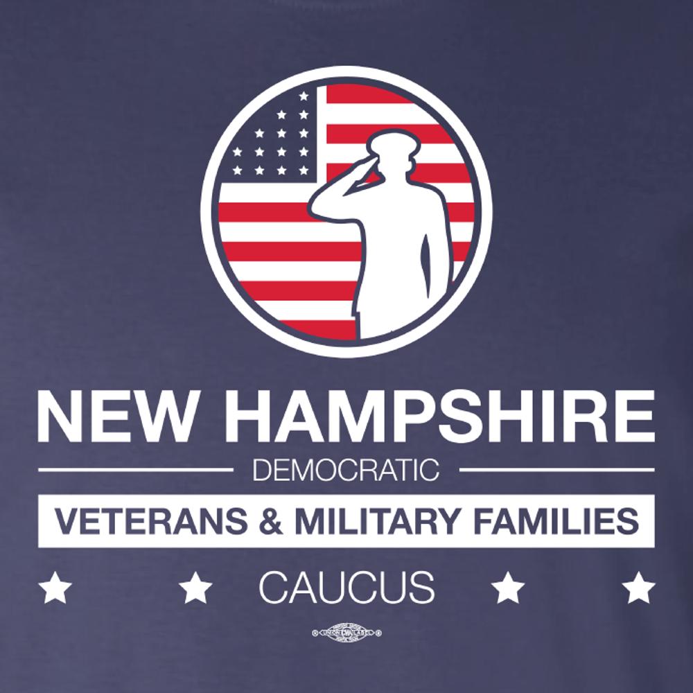 NHDP Veterans & Military Families Caucus (Navy Tee)