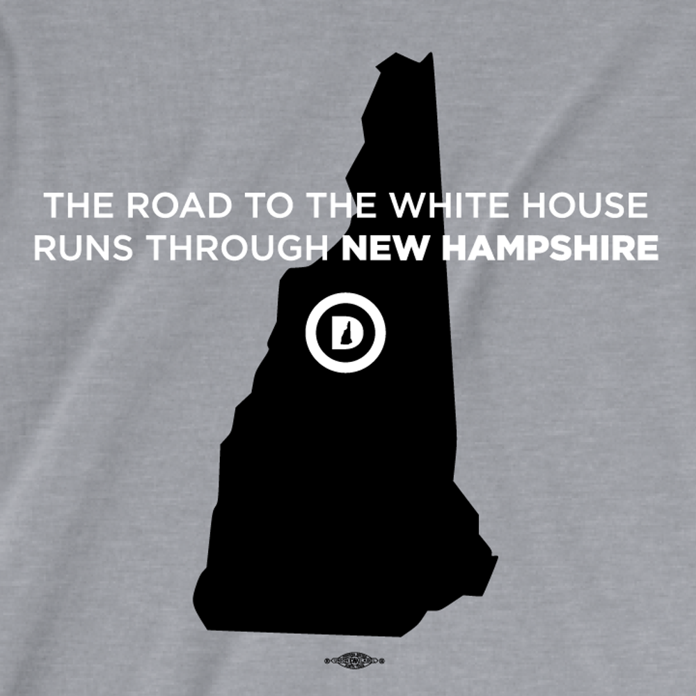 The Road To The White House (Women's Athletic Heather Tee)