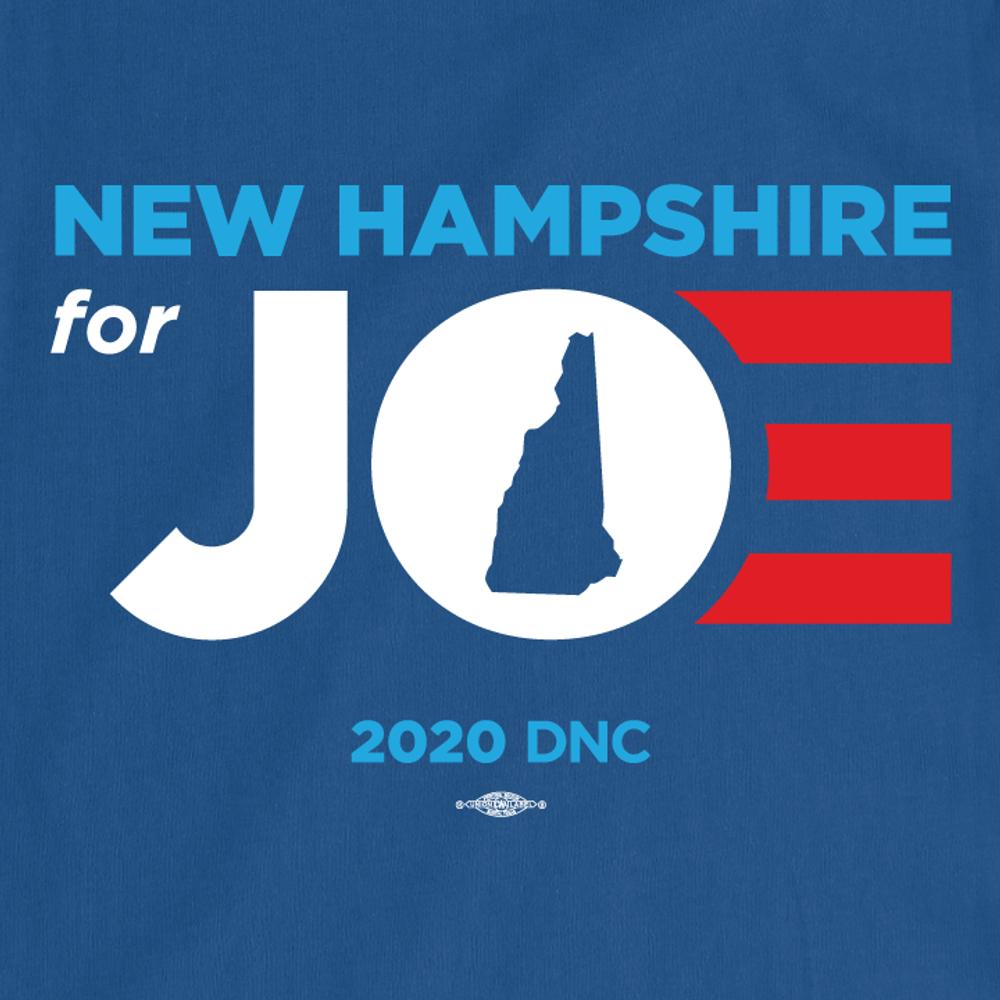 New Hampshire For Joe (Unisex Royal Blue Tee)