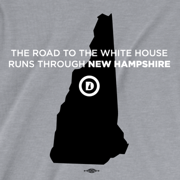 The Road To The White House (Unisex Athletic Heather Tee)