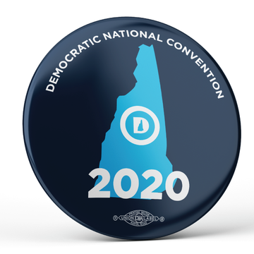 """DNC 2020 (2.25"""" Pin-Back Button -- Pack Of Two!)"""