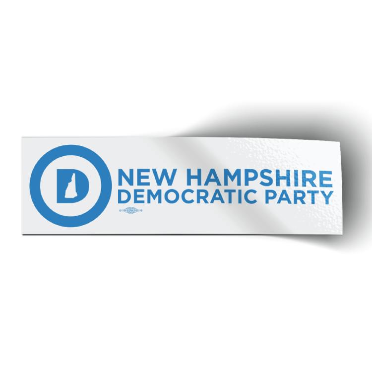 """NHDP Official Logo (9.5"""" x 3"""" Vinyl Sticker)"""
