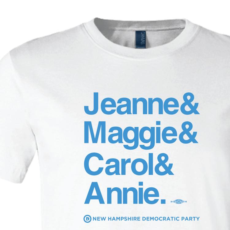 Jeanne & Maggie & Carol & Annie  (White Tee)