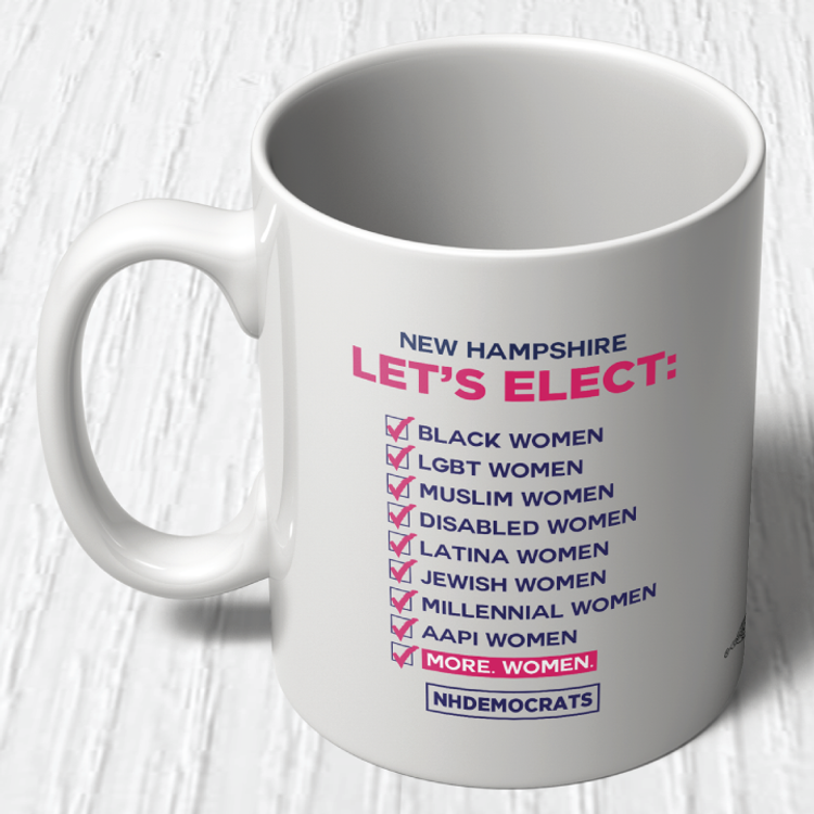 """Let's Elect"" graphic (11oz. Coffee Mug)"