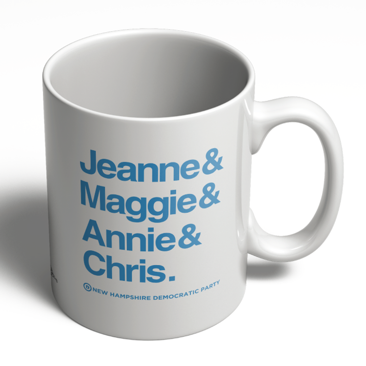 Jeanne & Maggie & Annie & Chris (11oz. Coffee Mug)
